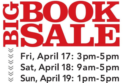 Friends of Central Library Spring Book Sale