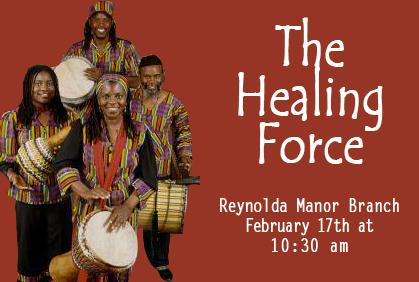 The Healing Force is Coming to Reynolda Manor Branch Library