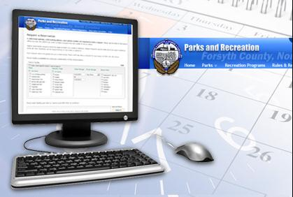 New Online Reservations System for Forsyth County Parks and Recreation
