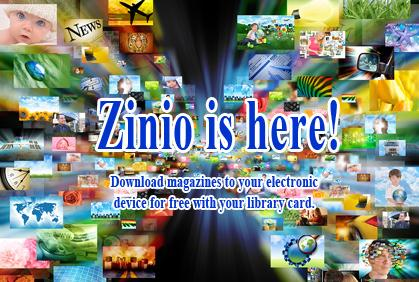Zinio is here!