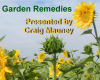 Garden Remedies - Monday, August 27 @ 6:30 in Walkertown