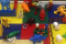 New LEGO table at the Clemmons Branch